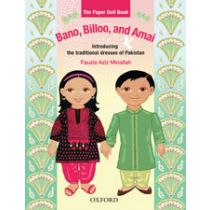 Bano, Billoo, and Amai: The Paper Doll Book