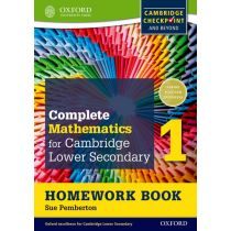 Complete Mathematics for Cambridge Lower Secondary Homework Book 1 (Pack of 15)