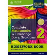 Complete Mathematics for Cambridge Lower Secondary Homework Book 2 (Pack of 15)