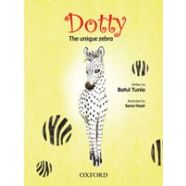 Dotty the Unique Zebra