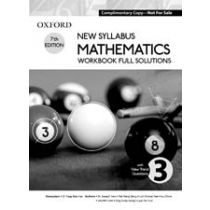 New Syllabus Mathematics Workbook Full Solutions 3