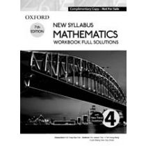 New Syllabus Mathematics Workbook Full Solutions 4
