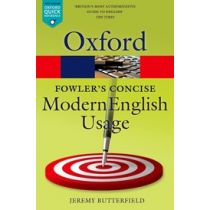 Fowler's Concise Dictionary of Modern English Usage Third Edition