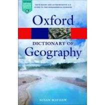 A Dictionary of Geography Fifth Edition