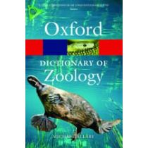 A Dictionary of Zoology Fourth Edition