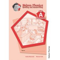 Nelson Phonics Spelling and Handwriting Red Workbooks A (10)