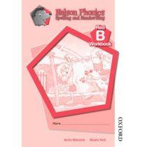 Nelson Phonics Spelling and Handwriting Red Workbooks B (10)
