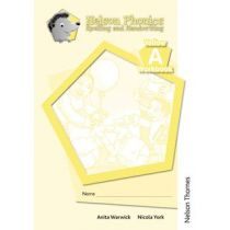 Nelson Phonics Spelling and Handwriting Yellow Workbooks A (10)