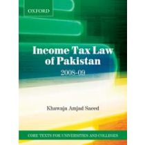 Income Tax Law of Pakistan 2008–09