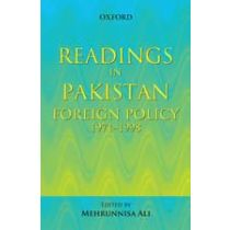 Readings in Pakistan Foreign Policy, 1971–1998