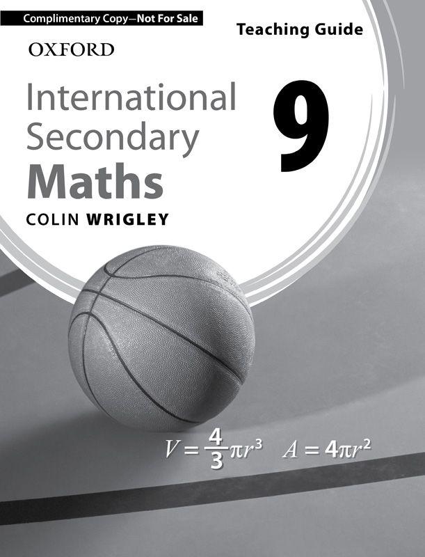 International Secondary Maths Teaching Guide 8